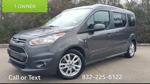 2015 Ford Transit Connect Wagon for sale at Houston Auto Preowned in Houston TX