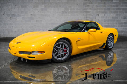 2001 Chevrolet Corvette for sale at J-Rus Inc. in Macomb MI