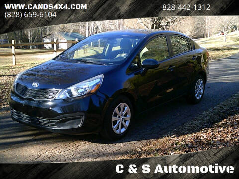 2013 Kia Rio for sale at C & S Automotive in Nebo NC