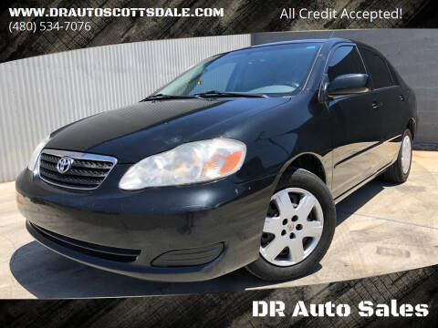 2007 Toyota Corolla for sale at DR Auto Sales in Scottsdale AZ