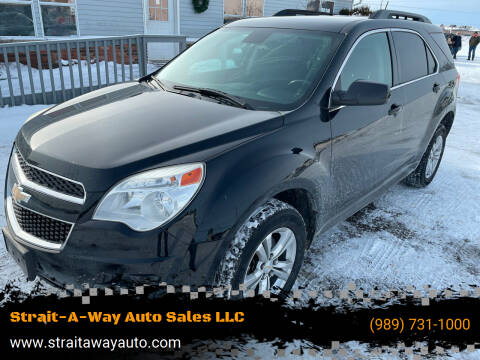 2015 Chevrolet Equinox for sale at Strait-A-Way Auto Sales LLC in Gaylord MI