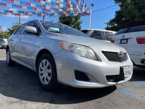 2009 Toyota Corolla for sale at Tristar Motors in Bell CA