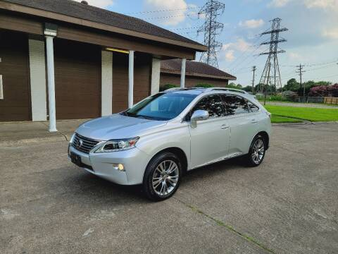 2014 Lexus RX 450h for sale at MOTORSPORTS IMPORTS in Houston TX