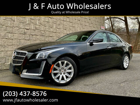 2014 Cadillac CTS for sale at J & F Auto Wholesalers in Waterbury CT