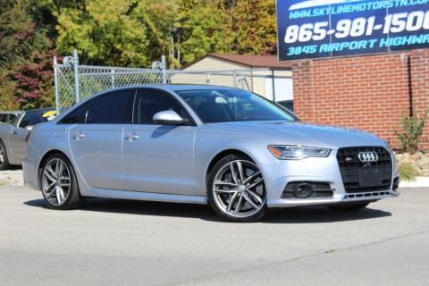 2016 Audi S6 for sale at Skyline Motors in Louisville TN