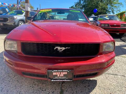 2009 Ford Mustang for sale at Best Cars R Us in Plainfield NJ