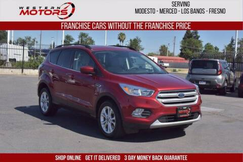2018 Ford Escape for sale at Choice Motors in Merced CA
