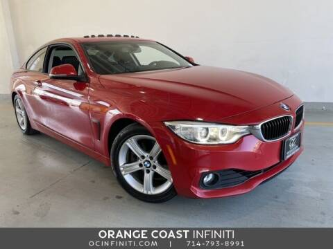 2014 BMW 4 Series for sale at ORANGE COAST CARS in Westminster CA