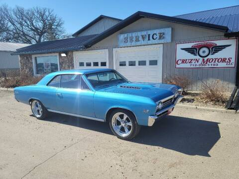 1967 Chevrolet Chevelle for sale at CRUZ'N MOTORS - Classics in Spirit Lake IA