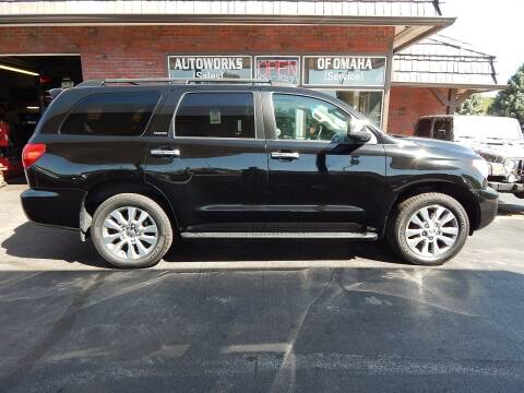 2014 Toyota Sequoia for sale at AUTOWORKS OF OMAHA INC in Omaha NE