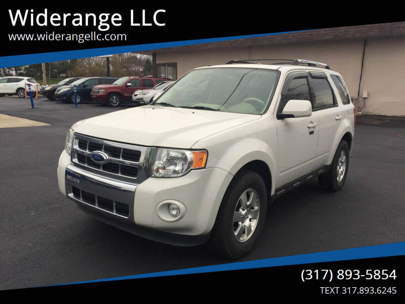 2012 Ford Escape for sale at Widerange LLC in Greenwood IN