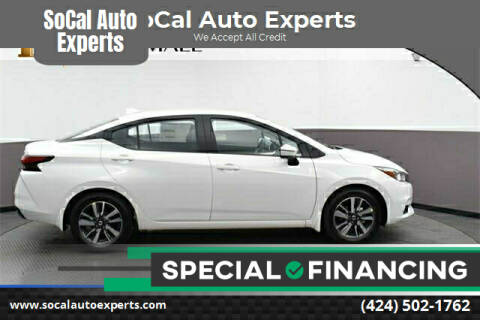 2020 Nissan Versa for sale at SoCal Auto Experts in Culver City CA