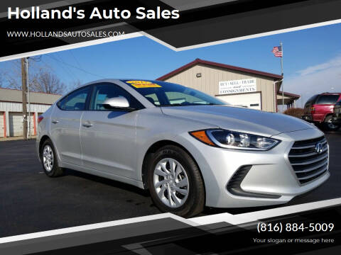 2017 Hyundai Elantra for sale at Holland's Auto Sales in Harrisonville MO