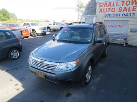 2010 Subaru Forester for sale at Small Town Auto Sales in Hazleton PA