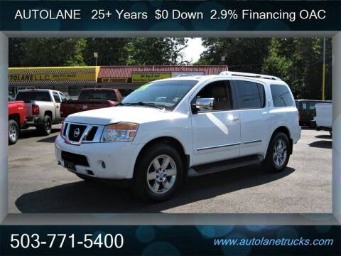 2011 Nissan Armada for sale at Auto Lane in Portland OR