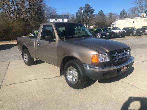 2003 Ford Ranger for sale at Ridetime Auto in Suffolk VA
