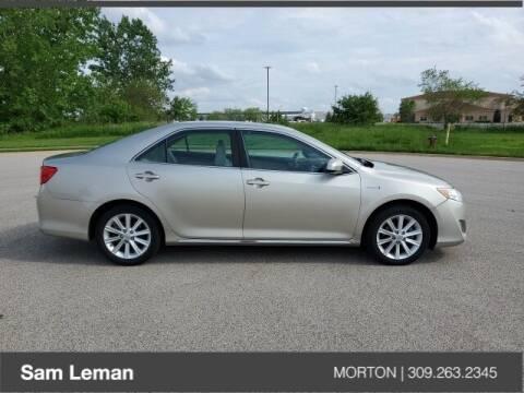 2013 Toyota Camry Hybrid for sale at Sam Leman CDJRF Morton in Morton IL