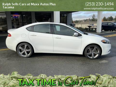 2014 Dodge Dart for sale at Ralph Sells Cars at Maxx Autos Plus Tacoma in Tacoma WA