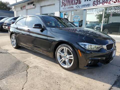 2018 BMW 4 Series for sale at Sunrise Auto Outlet in Amityville NY