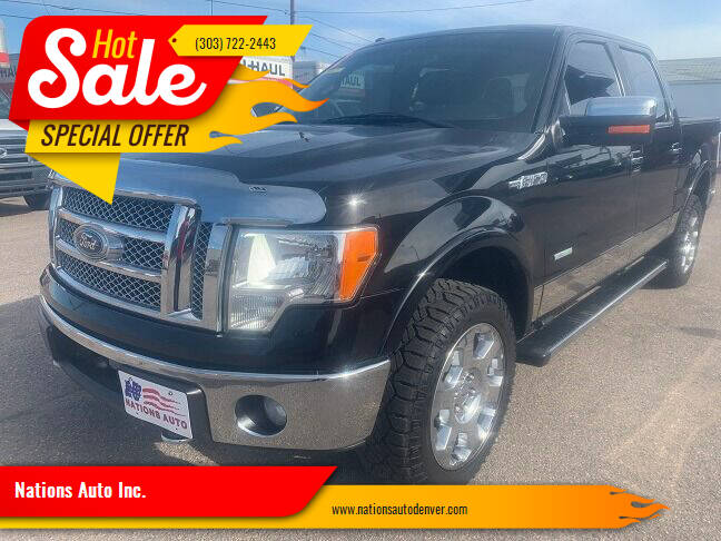 2012 Ford F-150 for sale at Nations Auto Inc. in Denver CO