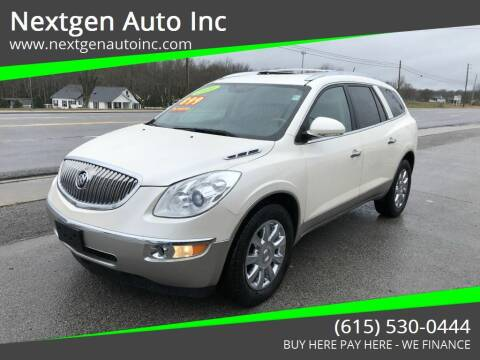2011 Buick Enclave for sale at Nextgen Auto Inc in Smithville TN