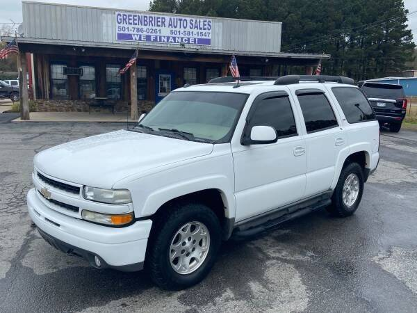 2005 Chevrolet Tahoe for sale at Greenbrier Auto Sales in Greenbrier AR