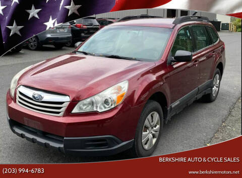 2011 Subaru Outback for sale at Berkshire Auto & Cycle Sales in Sandy Hook CT