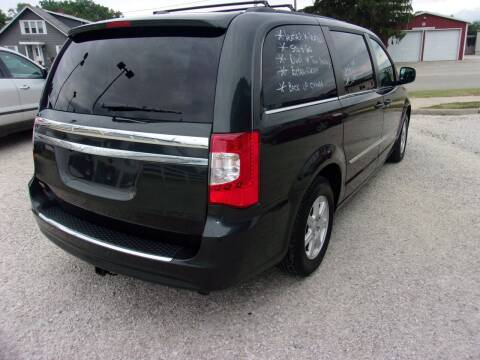 2012 Chrysler Town and Country for sale at Marty Hart's Auto Sales in Sturgis MI