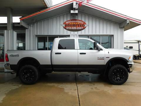 2017 RAM Ram Pickup 2500 for sale at Motorsports Unlimited in McAlester OK
