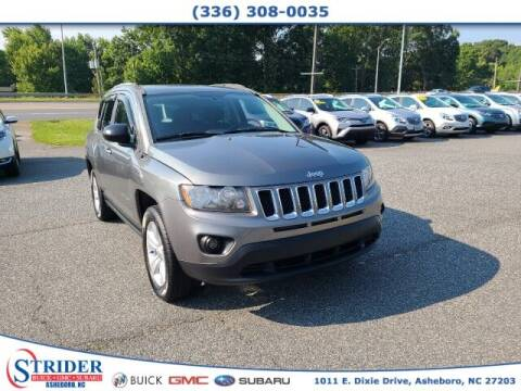 2014 Jeep Compass for sale at STRIDER BUICK GMC SUBARU in Asheboro NC