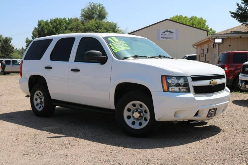 2013 Chevrolet Tahoe for sale at Northern Colorado auto sales Inc in Fort Collins CO
