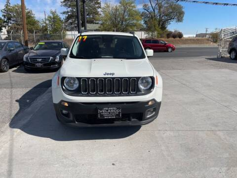 2017 Jeep Renegade for sale at Velascos Used Car Sales in Hermiston OR