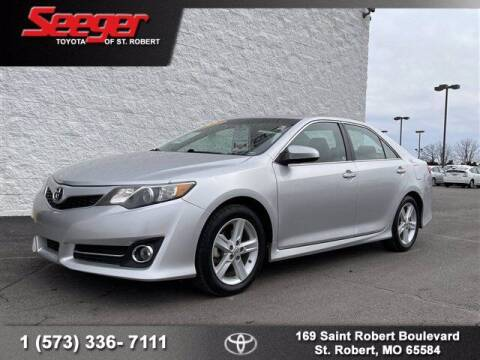 2012 Toyota Camry for sale at SEEGER TOYOTA OF ST ROBERT in St Robert MO