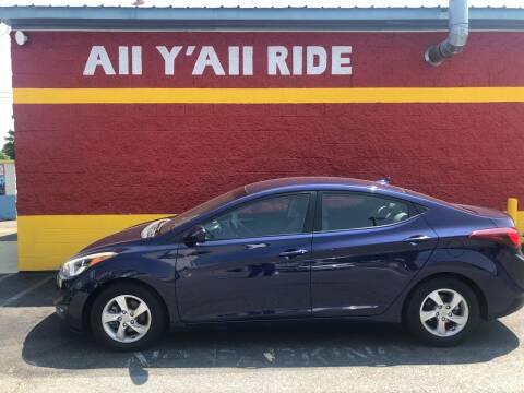 2014 Hyundai Elantra for sale at Big Daddy's Auto in Winston-Salem NC
