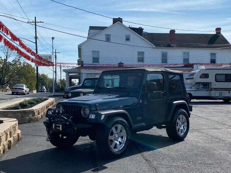 2006 Jeep Wrangler for sale at 4X4 Rides in Hagerstown MD