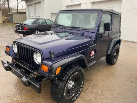 1998 Jeep Wrangler for sale at Car Solutions llc in Augusta KS