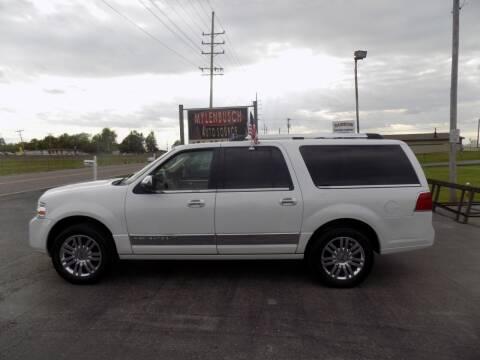 2010 Lincoln Navigator L for sale at MYLENBUSCH AUTO SOURCE in O` Fallon MO