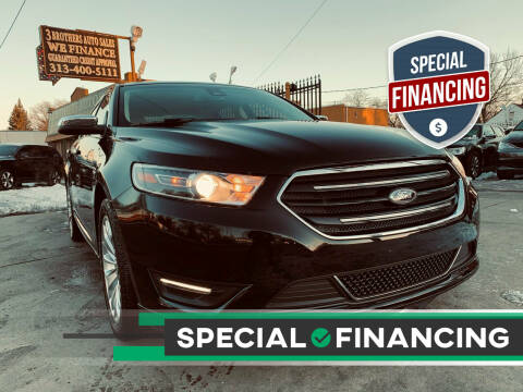 2019 Ford Taurus for sale at 3 Brothers Auto Sales Inc in Detroit MI