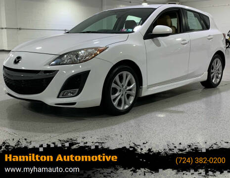 2010 Mazda MAZDA3 for sale at Hamilton Automotive in North Huntingdon PA