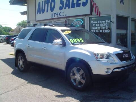 2011 GMC Acadia for sale at G & L Auto Sales Inc in Roseville MI