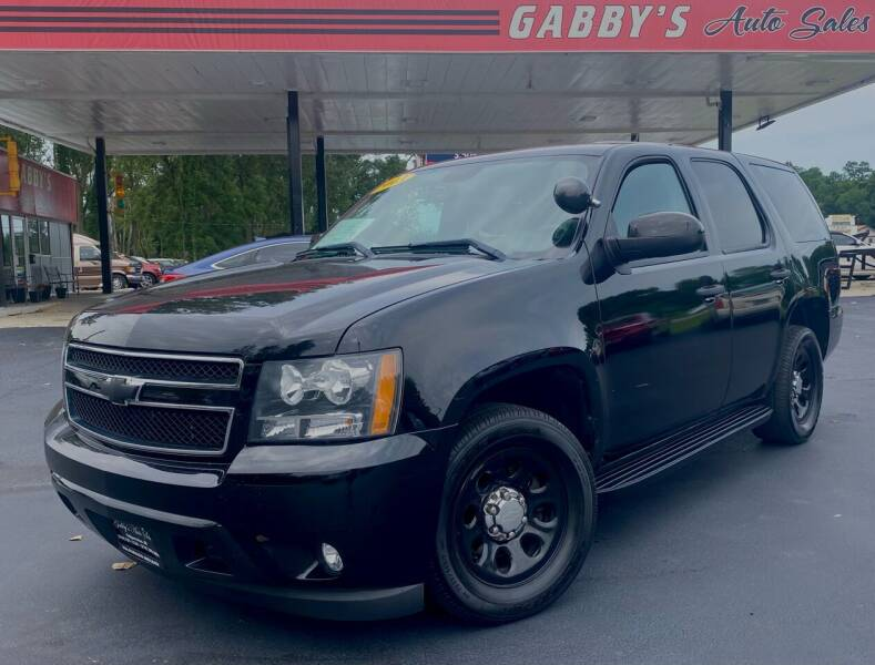 2013 Chevrolet Tahoe for sale at GABBY'S AUTO SALES in Valparaiso IN