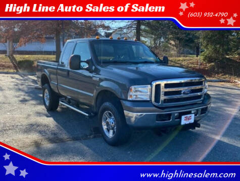 2005 Ford F-350 Super Duty for sale at High Line Auto Sales of Salem in Salem NH