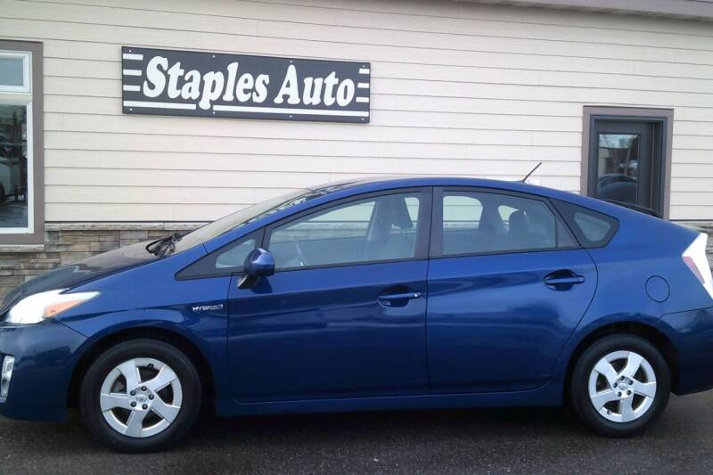 2011 Toyota Prius for sale at STAPLES AUTO SALES in Staples MN