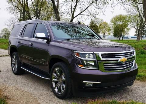 2015 Chevrolet Tahoe for sale at A F SALES & SERVICE in Indianapolis IN