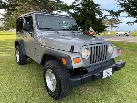 2000 Jeep Wrangler for sale at Dodi Auto Sales in Monterey CA
