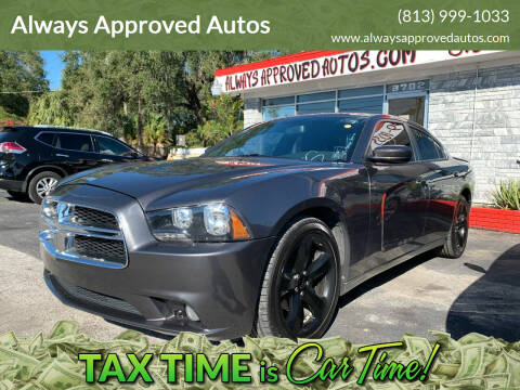 2014 Dodge Charger for sale at Always Approved Autos in Tampa FL