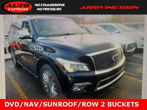 2016 Infiniti QX80 for sale at Auto Express in Lafayette IN