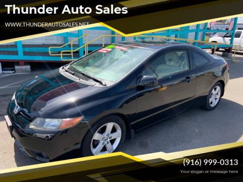 2006 Honda Civic for sale at Thunder Auto Sales in Sacramento CA