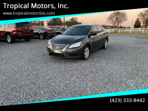 2015 Nissan Sentra for sale at Tropical Motors, Inc. in Riceville TN