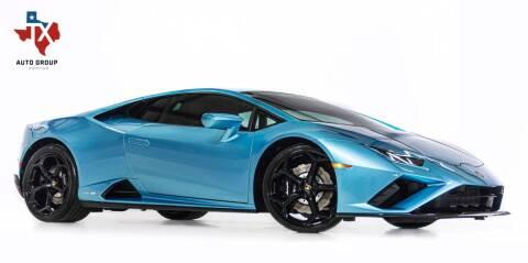 2021 Lamborghini Huracan for sale at TX Auto Group in Houston TX
